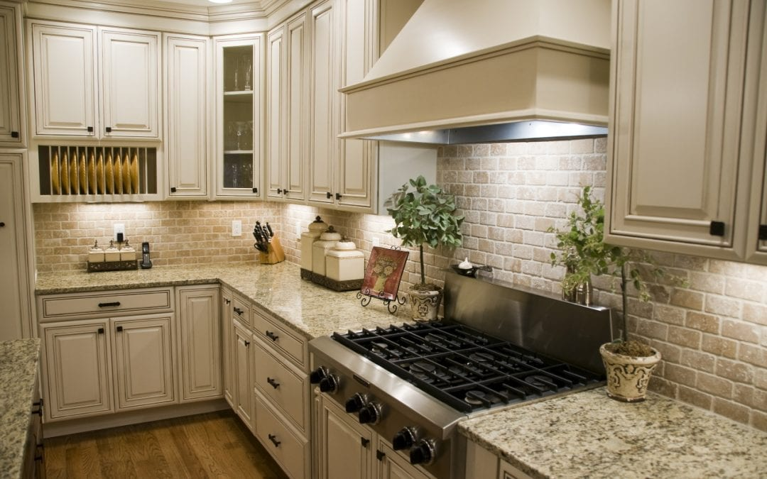 kitchen remodel ideas include installing lighting under cabinets